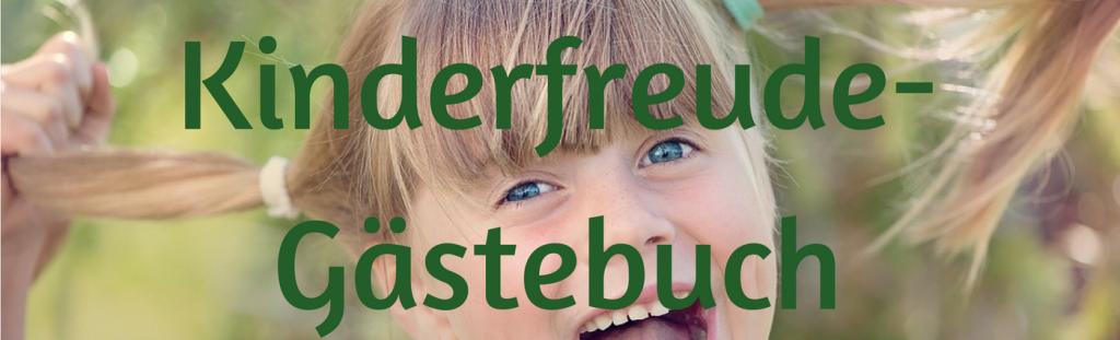 Kinderfreude-Gästebuch