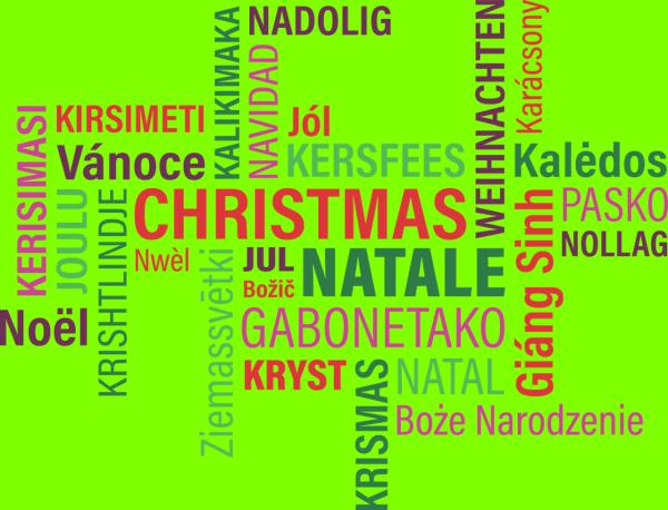 Sprache lernen - Weihnachten